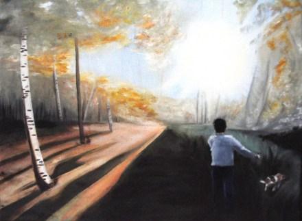 Oil Painting, (c) 2011 Emma E. Glennon