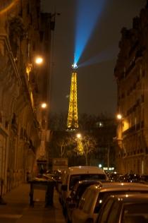 Golden Paris Night