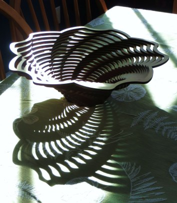Early morning sun/Spirals out like Fibonacci/In narrowing curves