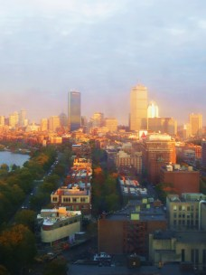 Boston from between 37 and 2,000 feet